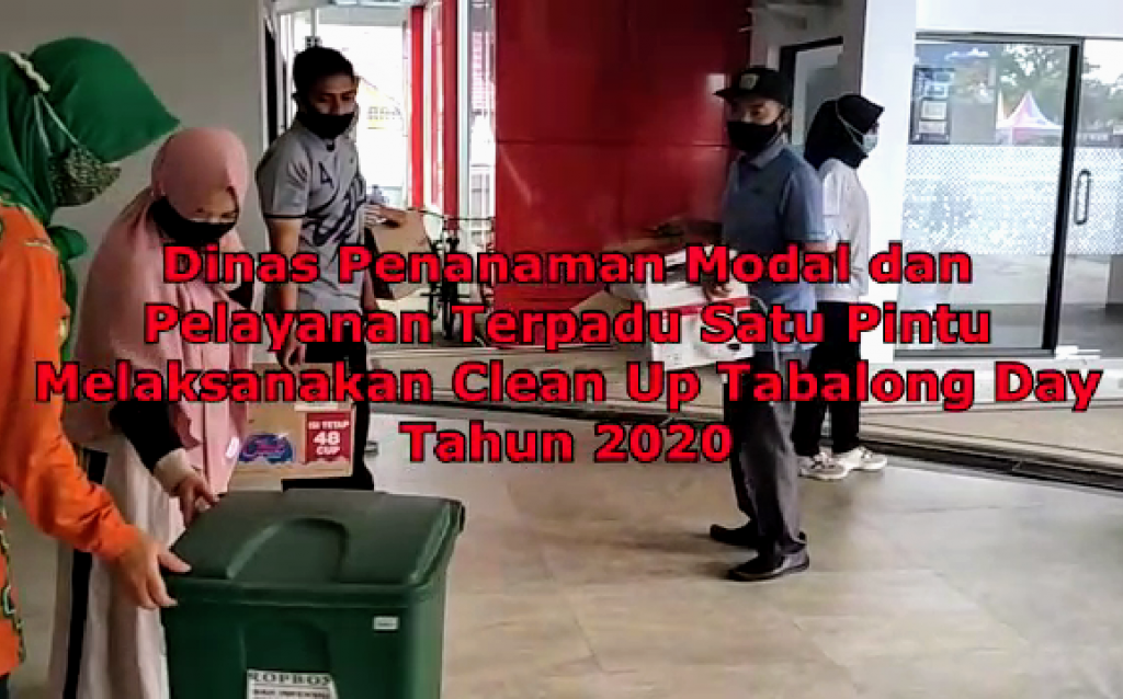 Clean Up Tabalong Day Tahun 2020